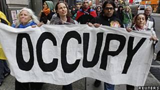 Perfil de alguns candidatos é influenciado pelo movimento Ocupe Wall Street (Reuters)