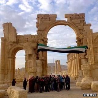 Biểu tình chống Tổng thống Syria Bashar al-Assad