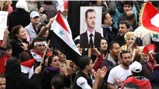 Magoya bayan shugaba Bashar al-Assad