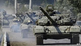 Tanques russos / AP