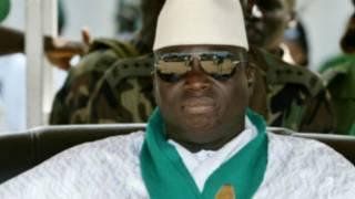Yahya Jammeh, le président gambien