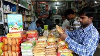 Pasar tradisional di India