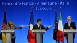 Lãnh đạo các nước Pháp, Đức, Ý