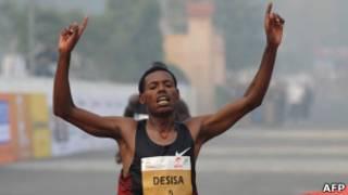 इथियोपियाई धावक