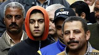 Eleitores egípcios/Reuters