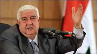 Walid al-Moallem, Ministan harkokin wajen Syria