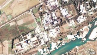 عکس آرشیوی از تاسیسات اتمی کره شمالی