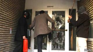 تصویری از حمله به سفارت بریتانیا در تهران