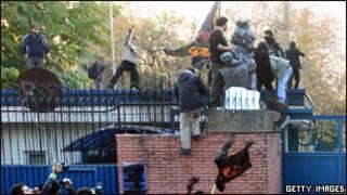 Abigaragambya bateye ambasade y'Ubwongereza muri Irani