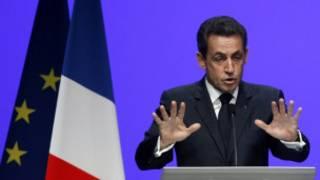 Tổng thống Sarkozy phát biểu về tương lai đồng euro ở Toulon