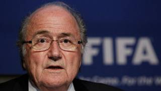 Shugaban Hukumar FIFA, Sepp Blatter