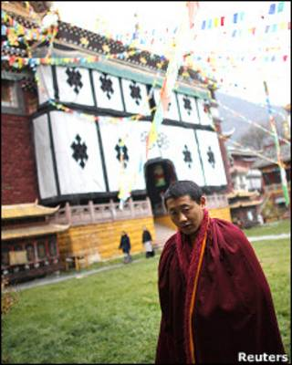 Một vị sư Tây Tạng