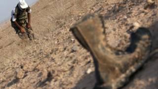 خنثی کننده مین در مرزهای غربی ایران
