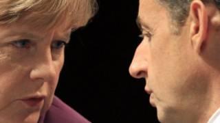 Angela Merkel da Nicolas Sarkozy