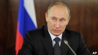 ولادیمیر پوتین، نخست وزیر روسیه
