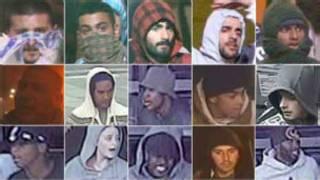 Фотографии подозреваемых