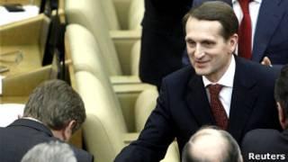 Сергей Нарышкин в Госдуме