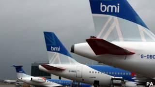 Самолеты авиакомпании BMI