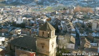 Paróquia de Huelma. | Foto: Governo da Andaluzia
