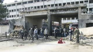 Ibisasu byaturikiye i Damas muri Syria