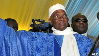 Rais Abdoulaye Wade wa Senegal