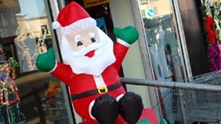 Надувной Санта-Клаус