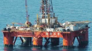 Một giàn khoan dầu của Trung Quốc