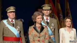 خانواده سلطنتی اسپانیا