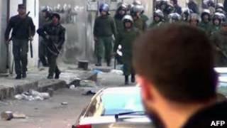 Насилие во время демонстраций в Сирии