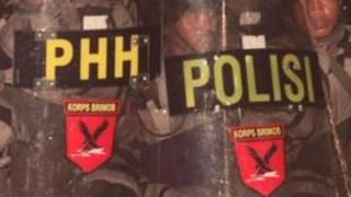 انڈونیشیا کی پولیس