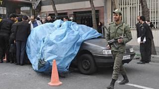 صحنه ترور احمدی روشن