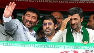 احمدی نژاد و حدادیان