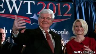 Ông New Gingrich và vợ