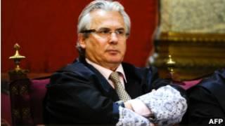 Испанский судья Бальтасар Гарсон