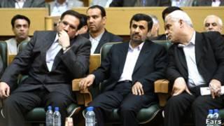 بهمنی، احمدی نژاد، حسینی