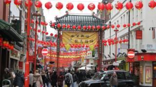 唐人街春節