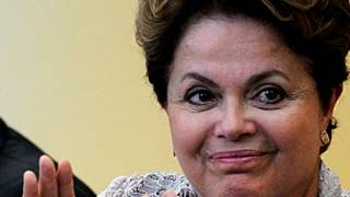 Dilma Rousseff. Getty Images