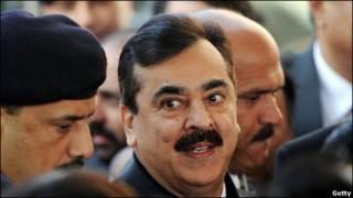 یوسفرضا گیلانی، نخستوزیر پاکستان