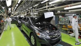 Завод Honda в Японии