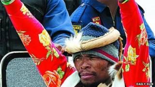 "O homem que diz ser Khulekani ""Mgqumeni"" Khumalo/Daily Sun"
