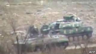 Танки в Хомсе