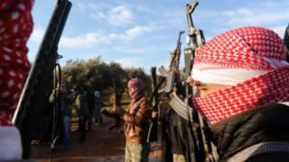 Militante do Exércio de Libertação Síria (AFP)