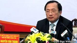 Bí thư thành ủy Hải Phòng Nguyễn Văn Thành