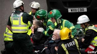 倫敦地鐵營救人員