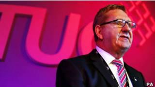 英國聯合工會領導人麥克拉斯基