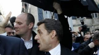 Президент Саркози в Байонне