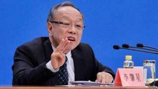 Juru bica parlemen Cina, Li Zhaoxing