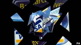 粉碎的信用卡