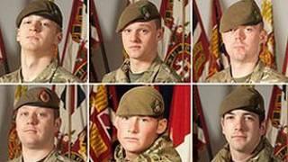 ہلاک ہونے والے برطانوی فوجی