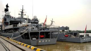 Chiến hạm Nhật Bản ở cảng Hải Phòng